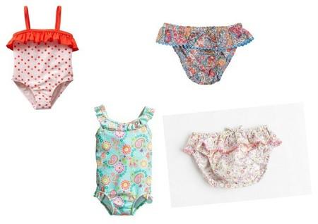 bañadores bebé niña low cost pv 2014