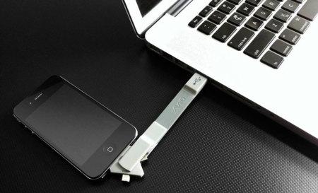 AViiQ, un cable de conexión USB universal para quien convive con diferentes gadgets