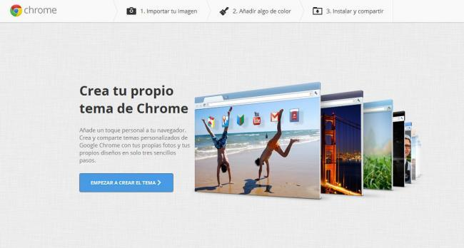 MyChromeTheme para Chrome