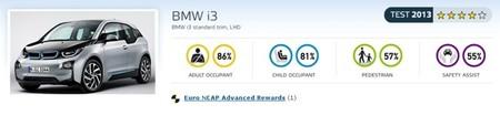 BMW i3 Euro NCAP Test 2013