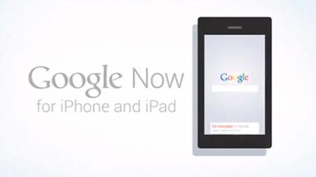 Google Now podría llegar pronto a iOS