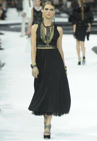 Chanel Primavera-Verano 2011. Negro