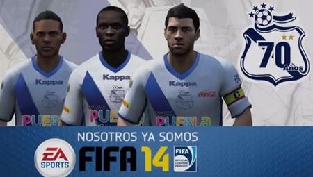EA Sports anuncia alianza de Puebla FC para FIFA 14
