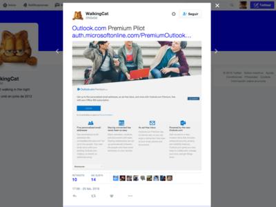 Una filtración revela los detalles del nuevo servicio Outlook Premium