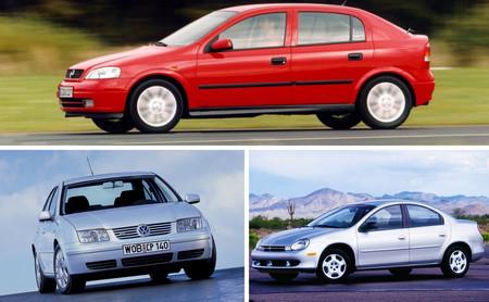 Dodge Neon vs. Chevrolet Astra vs. Volkswagen Jetta: analizamos a los compactos del momento