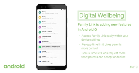 Android Q Digital Wellbeing Parental Controls Family Link