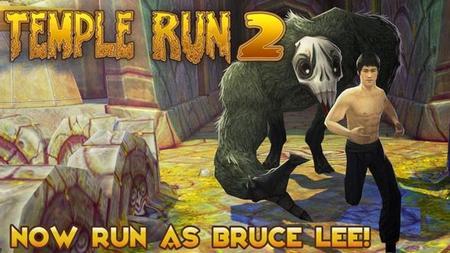 Bruce Lee será un personaje jugable en Temple Run 2