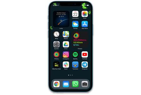 Iphone 12 Pro 04 Widgets Pantalla Inicio
