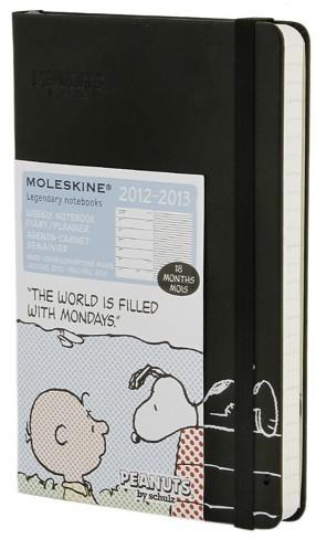 Agenda Moleskine de Snoopy