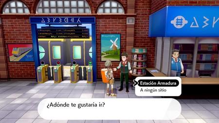 Pokémon Espada y Escudo: cómo viajar a la Isla de la Armadura