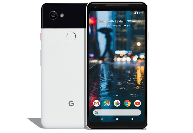 Pixel 2 Black White Front And Back