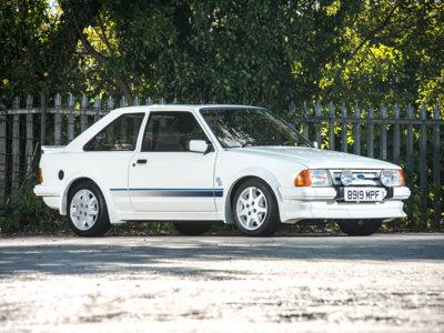 ¿Pagarías 85.000 euros por un Ford Escort RS Turbo del '85?