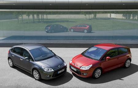 Citroën C4 VTN@V, con GPS de serie