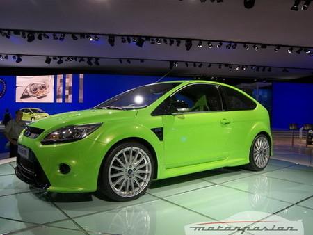 Ford Focus RS, más detalles filtrados