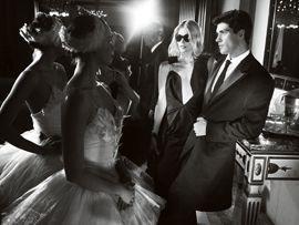 Primera imagen de Claudia Schiffer para Salvatore Ferragamo