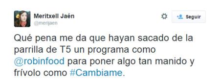 Cambiame Twitter Telecinco 4