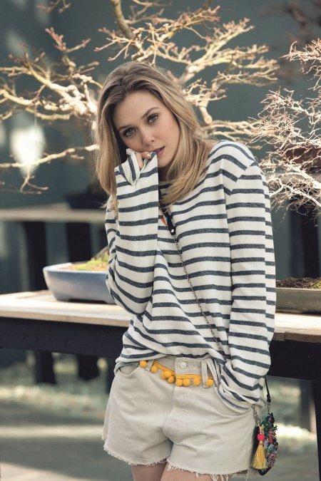 Elizabeth Olsen, la hermana pequeña (y sexy) de las gemelas Olsen