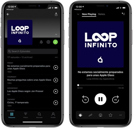 Pocket Casts Lacort