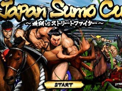 En Japón existe un minijuego de Street Fighter promocionando una carrera de caballos