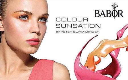 Naranja y fucsia intensos, los 'Colour Sunsation' de Babor. Maquillaje Primavera/Verano 2012