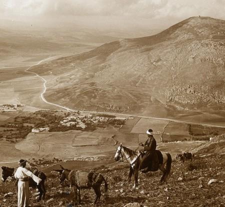 El Monte Guerizin Visto Desde El Monte Ebal