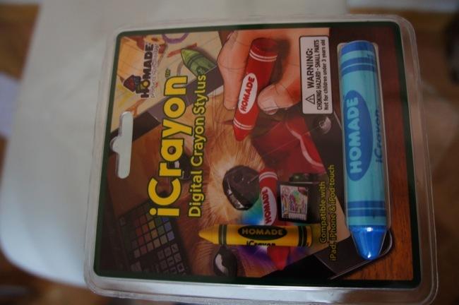 iCrayon, un stylus pensado para los más pequeños