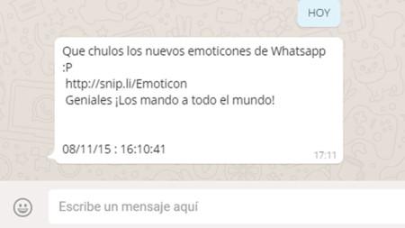 Whatsapp Estafa