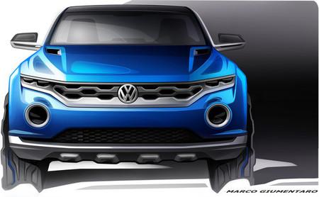 Volkswagen nos muestra los bocetos del prototipo T-ROC