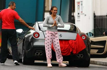 Tamara Ecclestone ya tiene un Ferrari 599 GTO