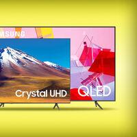 Al comprar esta smart TV Samsung QLED 4K de 75 pulgadas te llevas otra de 43 pulgadas gratis: pagos en hasta 12 meses sin intereses