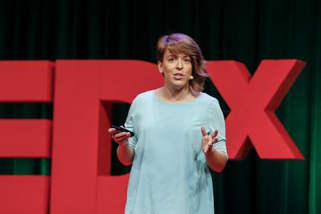 Mar en el TEDx de San Francisco en 2017. Imagen cedida.