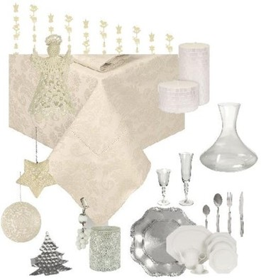 Tres mesas de Navidad con Zara Home