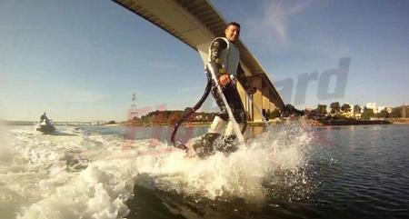 Flyboard, la evolución tecnológica del esquí acuático