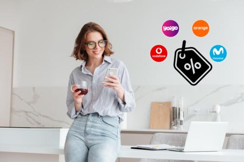 El confinamiento no impide que Movistar, Vodafone, Orange y Yoigo anuncien sus promociones más agresivas en años
