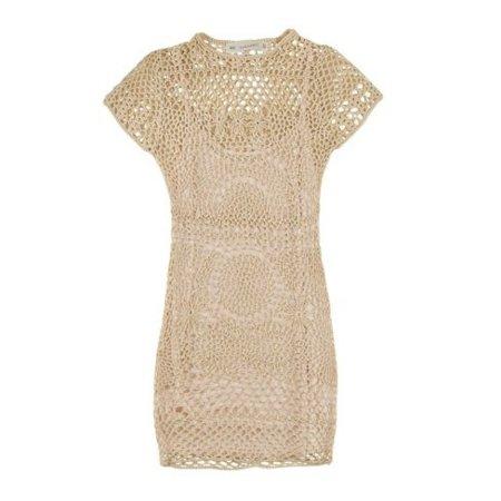 Zara Primavera-Verano 2011 vestido crochet