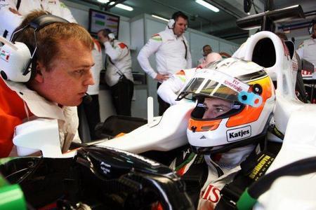 Nico Hülkenberg se subirá al Force India los viernes de Gran Premio