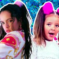 La gente está comparando a Rosalía con María Figueroa, la niña del pompón