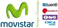 Ventajas y desventajas de Movistar y OMVs bajo su cobertura