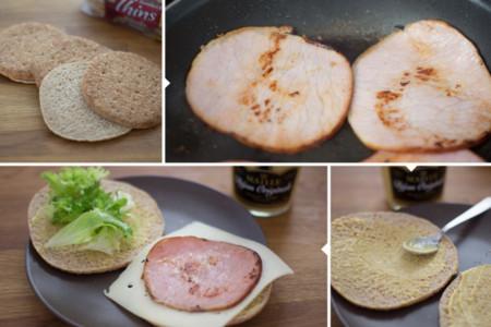 Sandwich Ligero - 2