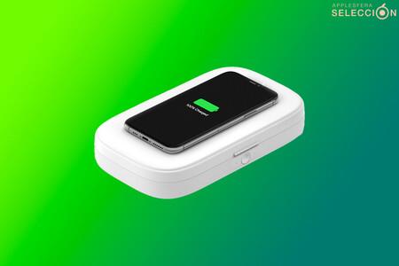 Esteriliza y recarga tu smartphone: Belkin Boost Charge con esterilizador UV y base de carga por 49,99 euros en Macnificos
