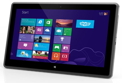 Vizio se apunta con su tablet con Windows 8 y AMD