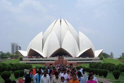 El Templo del Loto de Nueva Delhi