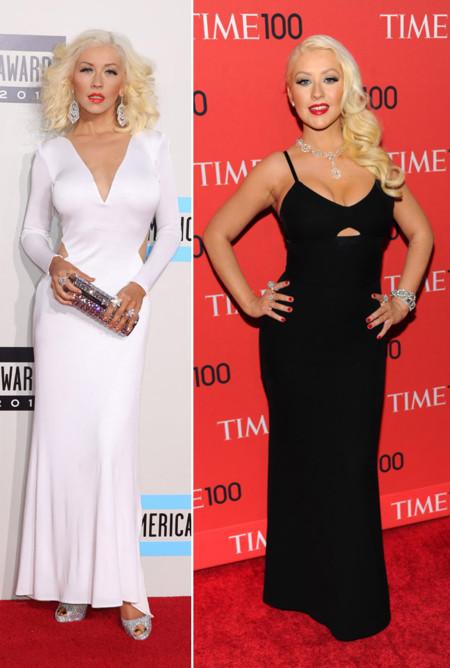 Christina Aguilera peor vestidas 2013