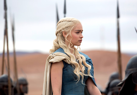 Daenerys Targaryen Estilo Durante Juego De Tronos Trenzas Pelo