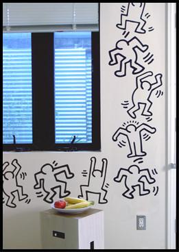Vinilos de Keith Haring