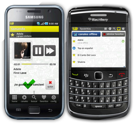 Biit para Android y BlackBerry