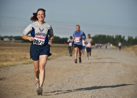 Athletes Cardio Dirt Road 34495