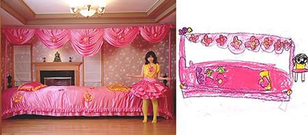 Wonderland: fotografías de dibujos de niños