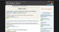 The Twitter Times, crea un periódico a partir de tu cuenta de Twitter