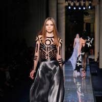 Transparencias Versace Alta Costura Verano 2014